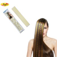 Wholesale Superior quality New Art hair decorations Stickers Recycling use Golden Strip Pattern Fashion Gilt Waterproof Provide customized service