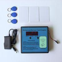 Wholesale 5pcs Access Parking Member ID EM Card Copy Duplicators Enhanced Sensor Card Copier Access Control Card Reader with Key Tags Cards