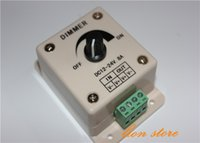 Wholesale ighting Accessories Dimmers High Quality Manual V A W PIR Sensor LED Strip Light lamps Switch Dimmer Brightness Controller High Qua