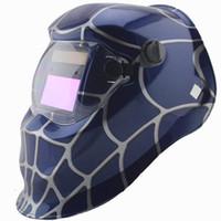auto paint machine - Spider paint Solar auto darkening welding helmet mask for the welder operate the welding machine