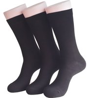 Wholesale Sbamy outdoor athletic bamboo socks no odor in days black sports pairs per bag in stock