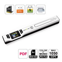 Wholesale Skypix TSN470 DPI Build In Li polymer Battery Portable Handheld Handy A4 Photo Scanner