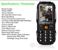 military cell phone - Water Proof Military Dual Sim Gsm Cell Phone Outdoor Flashlight Phockproof Unlock Camera Mobile Phone Cheap Mobile Phone