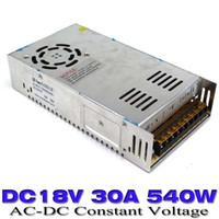 al por mayor la corriente continua 18v-El cambio mayor-fuente de alimentación de 540W DC18V 30A smps salida solo transformador 110V 220V AC a DC 18V UPS para la tira llevada CNC de impresión en 3D