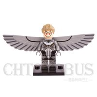 archangel gifts - X MEN Archangel Apocalypse Magneto Psylocke SUPER HEROES Minifigures Assemble Model DIY D Building Blocks Kids Gifts Toys