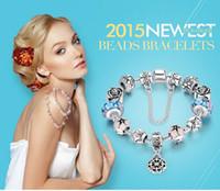 bead sourcing - Apply to pan beaded wind bracelet more European sourcing diy beads bracelet series of glass bead bracelet