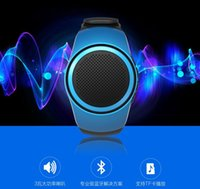 alarm wav - B20 Bluetooth Music Watch Wireless Speaker Subwoofer DC V FM Radio TF Card MP3 WAV Bluetooth V2 EDR Speaker Subwoofer Anti Lost Alarm
