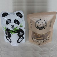 Wholesale 100g Panda Tea Queen Black lemon Tea Sichuan Red Gongfu Black Tea Chinese Organic Gift Tea Flower Tea