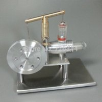 balance engine - LS002 Balance Type Aluminum Alloy Hot Air Stirling Engine Motor Model motor spirit motor figure