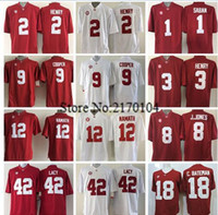 alabama crimson tide jersey - New Alabama Crimson Tide Jersey Red College Football Derrick Henry Julio Jones Amari Cooper McCarron Joe Namath Bate