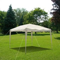 pop up gazebo - IKAYAA M Folding Outdoor Garden Canopy Gazebo Pop Up Party Wedding Camping Tent Marquee Pavilion US STOCK H16869
