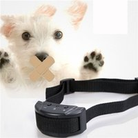 abs spring - Dog Collars Automatically The Magisterium Check Barking Of Factory Small Pet Training Device The Dog Black ABS Nylon Adjustable Collar