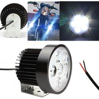 Wholesale 18W Bright Motorcycle Practical LED Driving Fog White Headlight Working Light Durable Lamp V EA10584