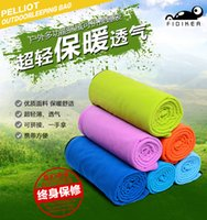 Wholesale Sleeping Bags polar fleece fabric sleeping bag envelope style fleece sleeping bag sleeping bag liner