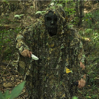 Wholesale New Ghillie Suit Breathable Hunting Camouflage clothing D birdwatching Poncho