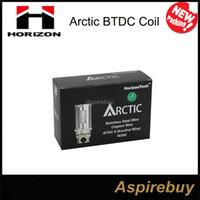 Wholesale Original Horizon Arctic BTC BTDC Coil for Arctic Atomizer or ohm Replacement Coils for Arctic atomizer Arctic Clearomizer New Pack