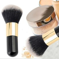 big round brush - Hot Seller Big Round Head Foundation Powder Brushes Makeup Brush Cosmetic Tools Nylon Wooden Handle IA100
