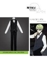bartender games - 2016 Summer Japanese Anime DuRaRaRa cosplay Heiwajima Shizuo Costume bartender Suit shirt waistcoat pants per set for man or women