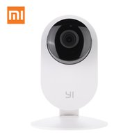Wholesale Original XiaoMi XiaoYi Smart Night Vision Edition IP Video Camera HD F2 Mini WiFi CCTV Ants for Smartphone Tablet PC