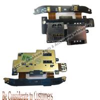 best hd cables - SIM card port Micro HD SD flex cable for HTC Desire S S510e G12 Memory Card slot Reader flex cable Original best quality