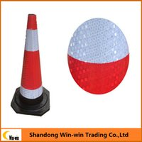 Wholesale Reflective PVC Type Traffic Cone for road safety