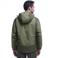Wholesale men s jacket in rain coat warm outdoor fishing mountain climbing camping hiking windproof winter spring autumn casual coat