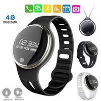 Wholesale 2016 Newest E07 Smart Bracelet Bluetooth Wristband IP67 Waterproof Cycling GPS Activity Tracker for Meizu pro PK Garmin Vivofit Fit Band