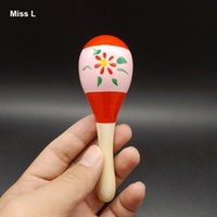 Wholesale Funny Kid Child Infant Sand Hammer Early Education Tool Musical Instrument