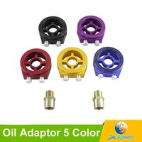 Wholesale Universal Oil Filter Sandwich Plate Adapter for Car Gauge Defi Oil Temp and Oil Pressure Sensor Adaptor
