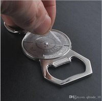 aluminum beer cans - 500 BBA4143 calendar KeyChain Key Chain Charms Beer Bottle OPENER beer Opener Coca Can Opening tool Key Ring Wine bar Corkscrew Tool gifts