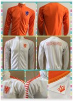 Wholesale New Product Holland Netherlands White Orange Jackets clothes out tracksuit coat N98 Football Training soccer Jacket Jersey