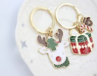 Wholesale Key Chains Christmas Gift Stanta Clans Europe And The United States Style Christmas Fashion Gift New ATM