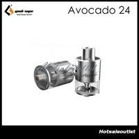 hinges - Geekvape Avocado RDTA ml Tank Avocado Atomizer velocity deck with hinge lock fill system E Cigarette Tank Original Free DHL