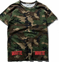 Cheap off-white camouflage men tshirt best edition striped letters printed tos palace skateboard t shirt tee off white virgil abloh