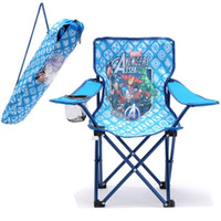 Wholesale Outdoor Gear D Thickening of Oxford cloth Folding Quad Chair with Carrying Bag for Beach and Fishing