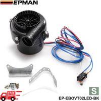 Wholesale EPMAN S Size Universal Car Fake Dump With LED Electronic Bov Turbo Blow Off Hooter Valve Analog Sound EP EBOVT02LED FS