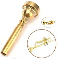 bach trumpet mouthpieces - Copper Gold Plated Trumpet Mouthpiece for Bach Yamaha Copper Conn C Size