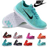 Wholesale 2016 Nike running shoes free V2 flyknit men and women roshes run sneakers men s walking outdoor shoes Tennis Shoes sports shoes