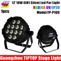 Wholesale TIPTOP TP P109 New Arrival x18W RGBWA UV IN1 Silent Led Par Light Not Waterproof IP20 No Working Noise Aluminum Case Par Cans