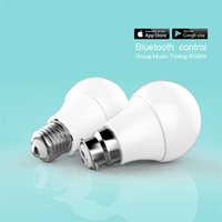 Wholesale High Quality Smarthome Bulb Warm RGBW Color w Bluetooth Bulb Magic Ball Light Energy Saving Green With Remote Control