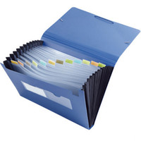 File Folders band folders - Easy Classification Expanding File Package Folder Elastic Band A4 Size Document Sorting Office School Supplies Papelaria