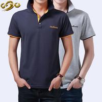Wholesale Polo Mens summer Men s Brand Polo Shirt For Men Designer Polos Men Cotton Short Sleeve shirt sports jerseys golf tennis