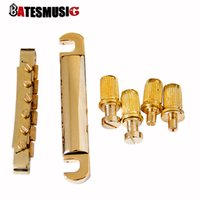 Wholesale Guitar Parts Accessories Tunomatic Guitar Bridge Stopbar Set for Guitar I80