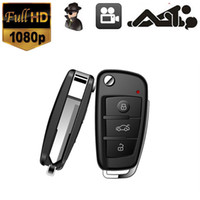 Wholesale 1080P DVR Multifunctional Hd Video Camera Hidden Camera Car Key Chain Mini Spy Camcorder DVR IR Night Vision S820 with Motion Dectection