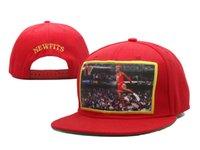 baseball figures - red sun cap NEWFITS Figure Printing Snap backs Snapback Baseball Hats Caps Adjustable Quality Snapbacks Snap back Hat Cap Good Prices SF