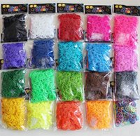 Wholesale 2015 promotion Colorful Loom Bands Looms Colar Rubber Bands Loom Bracelets bands clips Hook On Stock