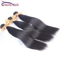outlet brazilian hair - Outlet Silky Straight Unprocessed Brazilian Human Hair Extensions Bella Natural Straight Remi Weave Mix Bundles Ombre DIY