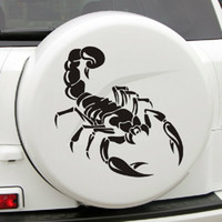 auto acessories - 3D Cute Stereo Scorpion Sticker Decals Decal Car Styling Stickers Funny on Car Auto declas cool Cars Acessories decoration