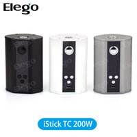 Wholesale Eleaf iStick w TC Mod New Temp Control Box Mod iSmoka Eleaf iStick TC w White Grey in Promotion iStick W