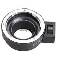 Wholesale Black Auto Mount Adapter EF NEX for Sony NEX Series Cameras EF EF S Mount